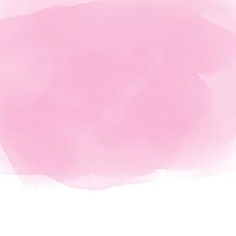 Weicher rosa aquarelleffekthintergrund
