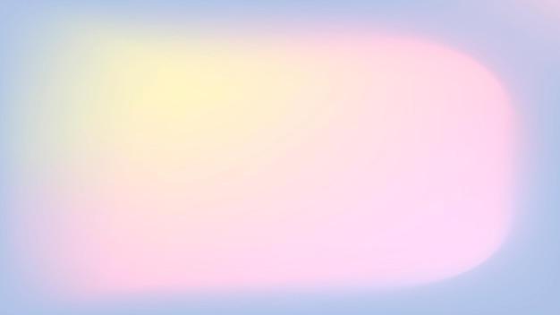 Weicher rosa pastellgradientenunschärfehintergrundvektor
