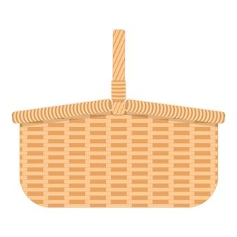 Weidenkorb für speisen und getränke geflochtener weidenkorb zum camping