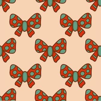 Weihnachten band muster hintergrund social media post weihnachtsdekoration vektor illustration