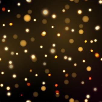 Weihnachten bokeh licht abstrakten feiertagshintergrund. vektor