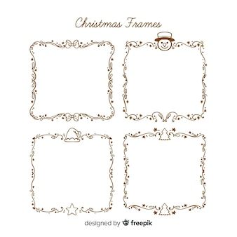 Weihnachten einfaches rahmenpaket