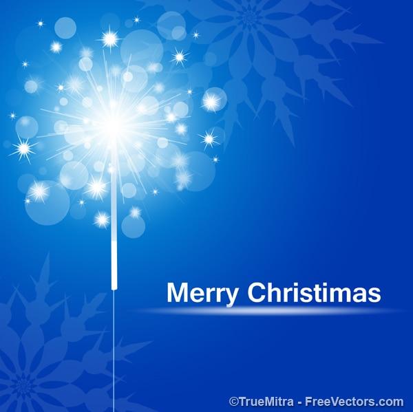 Weihnachten funken grusskarte