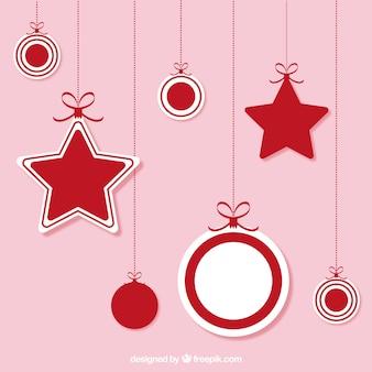 Weihnachten hängende ornamente