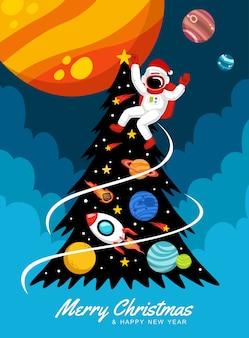 Weihnachten im weltraum