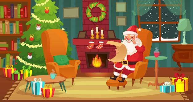 Weihnachten interieur
