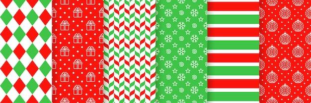 Weihnachten nahtlose muster. vektor-illustration. weihnachtstextur.