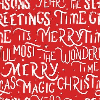 Weihnachten nahtlose muster
