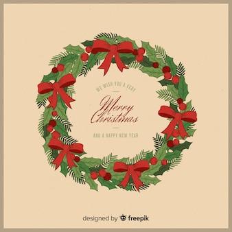 Weihnachten & neujahr hintergrund