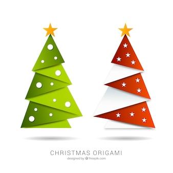 Weihnachten origami