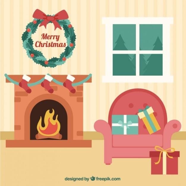 Weihnachten raumdekoration