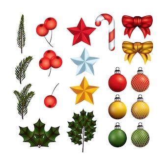 Weihnachten realistische elemente