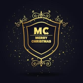 Weihnachten royal logo designs