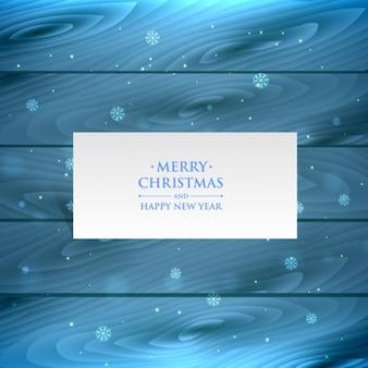 Weihnachten schneeflocken in holz