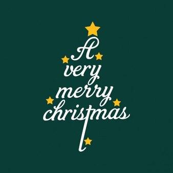 Weihnachten schriftzug baum