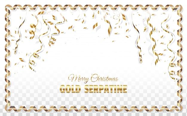 Weihnachten serpentin plakat vorlage