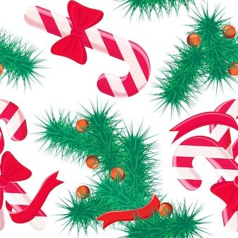 Weihnachten süßigkeiten hintergrund