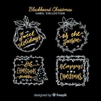 Weihnachten tafel abzeichen packung