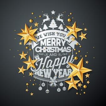 Weihnachten und neujahr abbildung