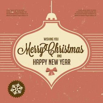 Weihnachten und neujahr gruß