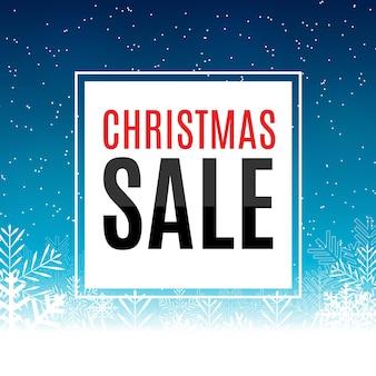 Weihnachten und neujahr verkauf hintergrund rabatt coupon vorlage vektor illustration