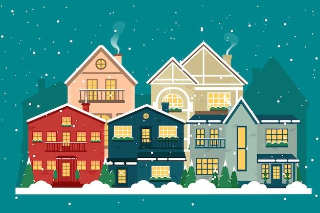 Weihnachten und weihnachtsstadt