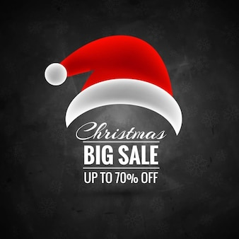Weihnachten Verkauf Hintergrund