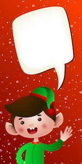 Weihnachten vertikale banner vorlage
