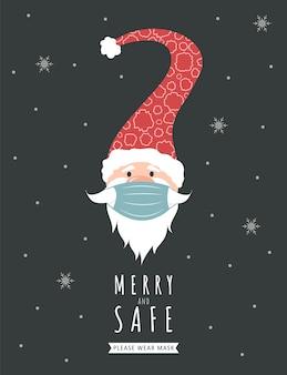 Weihnachten während einer pandemie