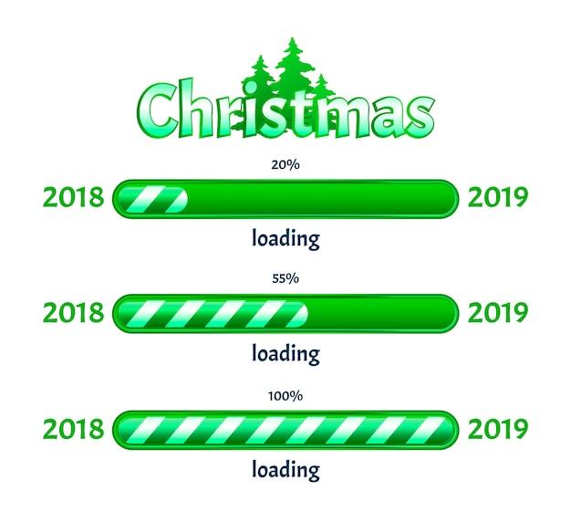 Weihnachten wird geladen