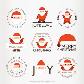 Weihnachts abzeichen sammlung