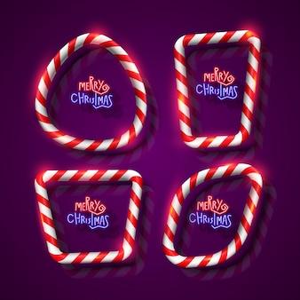 Weihnachts-banner gesetzt