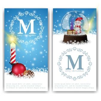 Weihnachts-banner-vorlagen