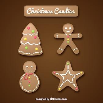 Weihnachts coockies sammlung