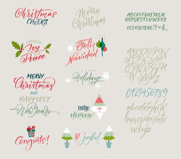 Weihnachts-design-sammlung