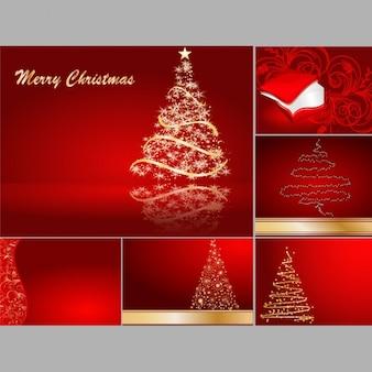 Weihnachts-designs kollektion