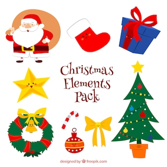 Weihnachts elements pack