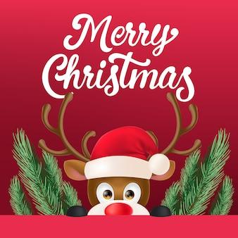 Weihnachts-flyer-design