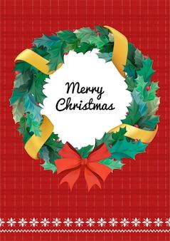 Weihnachts-grußkarten-vektor