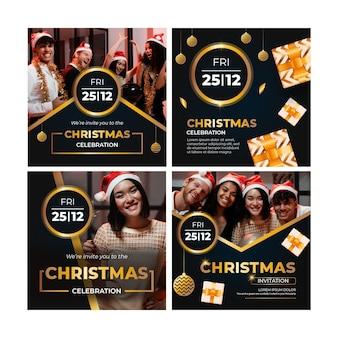 Weihnachts-instagram-beiträge