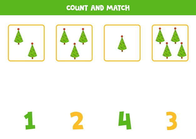 Weihnachts-lernspiel