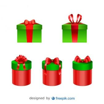 Weihnachts neue gegenwart jahre boxen gesetzt