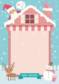 Weihnachts-sankt-rosahaus