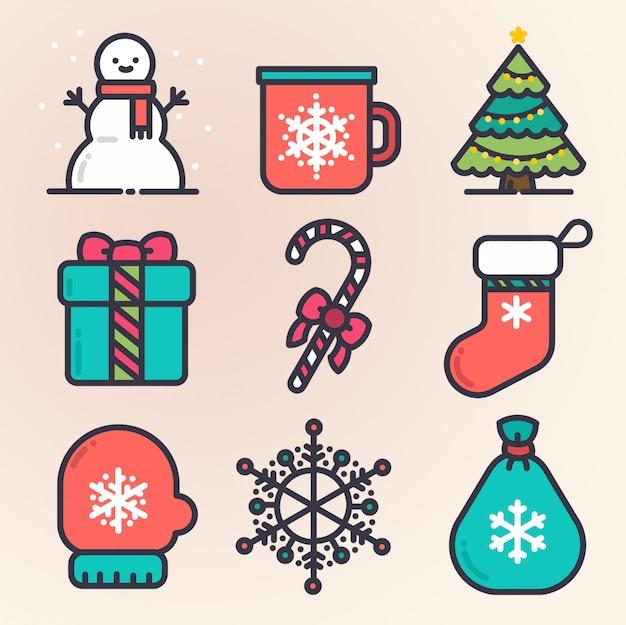 Weihnachts-set