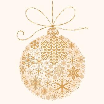 Weihnachts- und neujahrs-dekorativer weihnachtsball