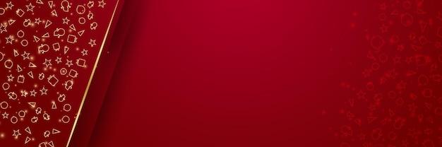 Weihnachts- und neujahrsdesign 2022 elegante realistische weihnachtskugeln aus rotgold und dekorative goldene ...