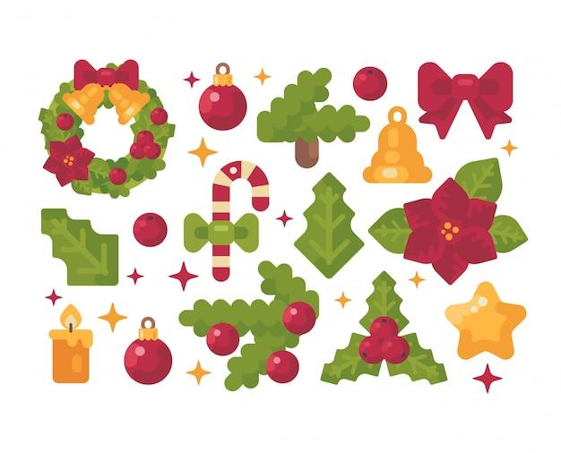 Weihnachtsartikel-auflistung.
