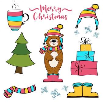 Weihnachtsartikel-sammlung