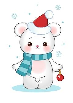 Weihnachtsbär clipart
