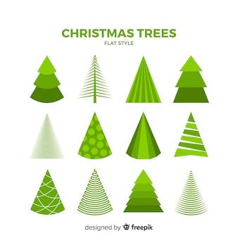 Weihnachtsbäume-sammlung